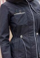 Horseware Charlie Parka Ladies French Navy UK Large Zipped Pockets *Ref13
