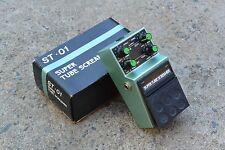 1980s Maxon ST-01 Super Tubescreamer MIJ Japan Effects Pedal w/Box