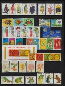 Surinam - 10 mint sets, cat. $ 34.30