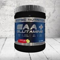 SCITEC NUTRITION EAA + GLUTAMINE essential amino acids BCAA zero sugar vegan