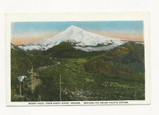 UNUSED VINTAGE POSTCARD MT HOOD SANDY RIVER OREGON UNION PACIFIC RAILROAD