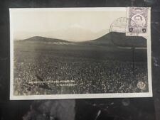 1921 Veracruz Mexico Real Picture RPPC Postcard Pico De Orizaba