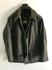 Mens Barbour Beaufort wax jacket Blue coat 44in size L/XL Large / Extra Large #