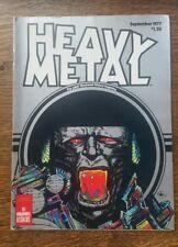 Heavy Metal Magazine September 1977