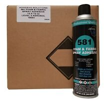 V&S 581 Premium Foam & Fabric Spray Adhesive Case with 12 cans