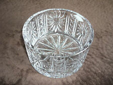 GORGEOUS HAND CRAFTED SHANNON  CRYSTAL BOWL/ 24% LEAD CRYSTAL/ POLAND