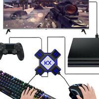 Keyboard and Mouse Adapter for Game Console, Game Controller Keyboard Mouse USB