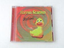 HAREM SCAREM - RUBBER - CD JAPAN WARNER 1999 - W/OBI + POSTER - NM/NM