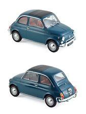 1/18 Norev Fiat 500 L 1968 Blue New