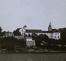 Akershus Fortress/Castle, Christiania (Oslo), Norway, Magic Lantern Glass Slide