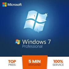 Microsoft Windows 7 Professional OEM 32/64 Bit Win Pro Original Key GENUINE