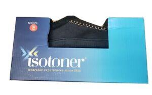 NIB Men's Isotoner Memory Foam Moccasin Slippers Dark Brown Sz Xl (11 - 12)