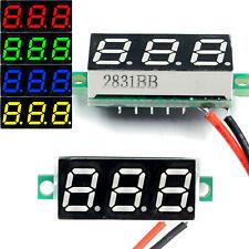 Dc 24 30v 2 Wire Voltmeter 3 Digit Led Display Panel Volt Meter Voltage Tester