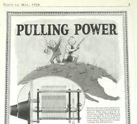 1924 Radio Print Ad - Kellogg Variable Condensers - Kellogg S & S Co. - May 1924