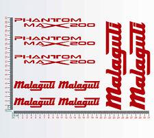 Adesivi stickers compatibili MALAGUTI PHANTOM MAX200 -Scegli Colore- Cod.1279