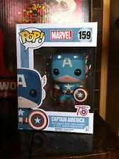 Captain America Sepia Tone 159 Funko Pop Vinyl US Excl Expert Packaging