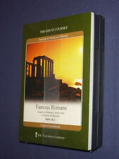 Teaching Co Great Courses  DVDs            FAMOUS  ROMANS        new & sealed