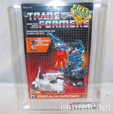 Transformers Original G1 AFA 80 Protectobot Groove w/ Decoy MOSC 80/85/85