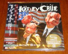 Japan SS MINI-LP SHM-CD Motley Crue-Generation Swine +5 LTD OOP UICY-93496