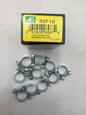"""3/8""""fuel injection hose clamps-10/box"""