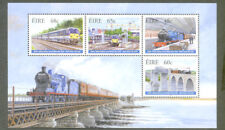Ireland-2005 Trains & Railways min sheet mnh