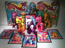 My Little Pony G4 Mane 6, Crystal Empire LOT w/ Accessories & Custom Cards