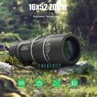 16x52 Zoom BAK4 Monocular Telescope Lens Camera HD Scope Hunting Phone Holder