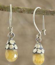 Handmade Natural Agate Fashion Earrings