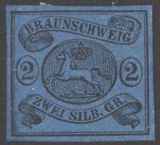 Braunschweig Mi. Nr. 7a* LUXUS geprüft Brettl BPP 400 Euro