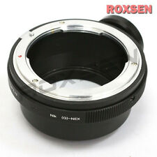 Nikon F mount G AF-S lens to Sony E mount NEX adapter tripod NEX-7 A7 A7R A6000
