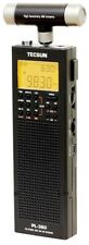 Tecsun PL-360 Digital PLL Portable AM/FM Shortwave Radio with DSP, Black