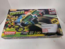 Carrera Teenage Mutant Ninja Turtles Slot Racing System 1:43 Scale Incomplete