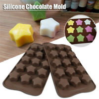 Stars Shapes Silicone Cake Decorating Moulds Candy Cookies Chocolate Baking Mold