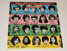 THE ROLLING STONES some girls Lp RECORD 1ST VERSION OG CELEBRITY FACES 1978