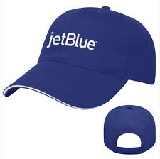 JetBlue Airlines Light Blue Hat Brand New Adjustable Logo Cap