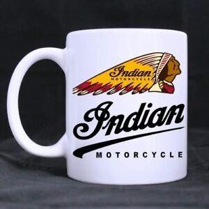 Indian Motorcycles Logo Custom Designed White Mug 11oz/15oz