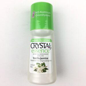 Crystal Essence Mineral Deodorant Vanilla Jasmine Roll-On 2.25 oz