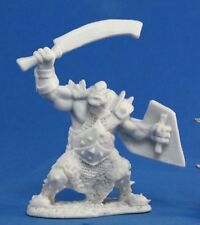 ORC MARAUDER (SWORD AND SHIELD) - Reaper Miniatures Dark Heaven Bones - 77042