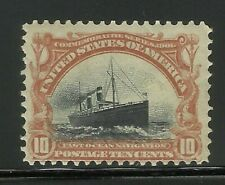 More details for usa series 1901 10c stamp old us mm mint ex-old time american collection