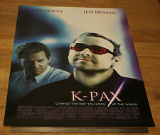 K-PAX *ORIGINAL UNFOLDED * 2001 One Sheet Movie Film POSTER KEVIN SPACEY