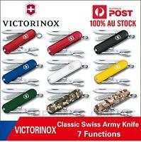 NEW VICTORINOX CLASSIC SWISS ARMY KNIFE Multi Pocket Tool Gadget, Best Price!