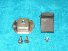 1967 1968 Ford Mustang Shelby Cougar ORIG REAR END PINION BODY SNUBBER + BRACKET