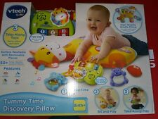 Vtech Baby Tummy Time Discovery Pillow Birth +