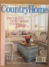 Country Home Style Secrets Welcoming Homes Best Colors 2014 FREE SHIPPING!