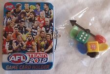 Afl Teamcoach 2012 Game Card Holder and Play Pieces