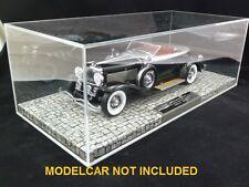 Showcase Display Vitrine Minichamps Maserati Buick Cadillac 1:18 resin models