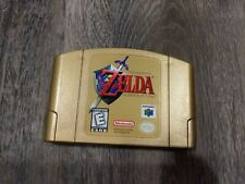 The Legend of Zelda: Ocarina of Time Gold Collector's Edition (Nintendo 64, N64)