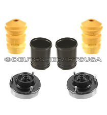 REAR STRUT SHOCK MOUNT MOUNTS BUMP STOP DUST BOOT KIT 1989-95 SET 6 for BMW E34
