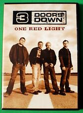 3 Doors Down One Red Light DVD 2004 Wal-Mart Exclusive with Band Footage