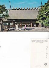 1980's A JAPANESE TEMPLE JAPAN UNUSED COLOUR POSTCARD
